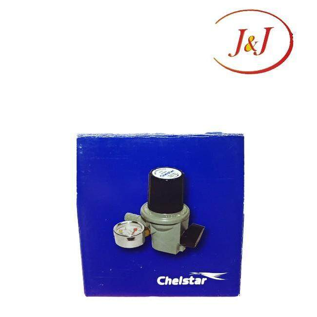 CHELSTAR HP-333G High Pressure Gas Regulator With Gauge