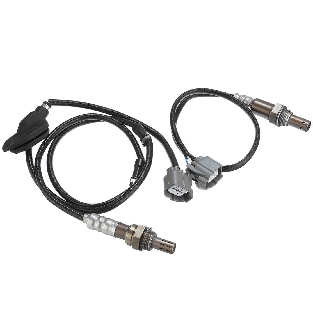 Car Electronics - 2X Air Fuel Ratio Oxygen O2 Sensor Up & Down For Honda Accord 2.4L 03-07 - Automotive