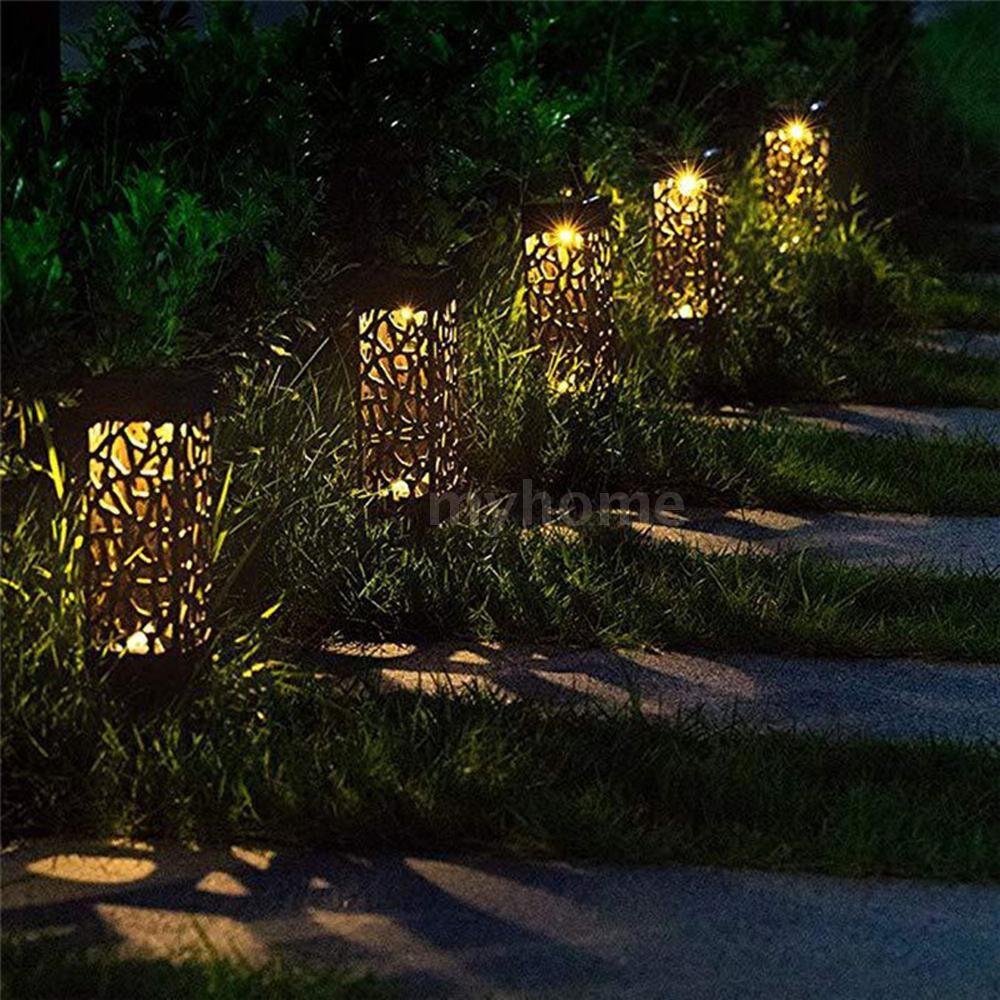 Outdoor Lighting - Outdoor LED Solar Garden Light Waterproof Net Cover Lights Solar-power Home Decor Lawn Lamp Garden - 2 / 1