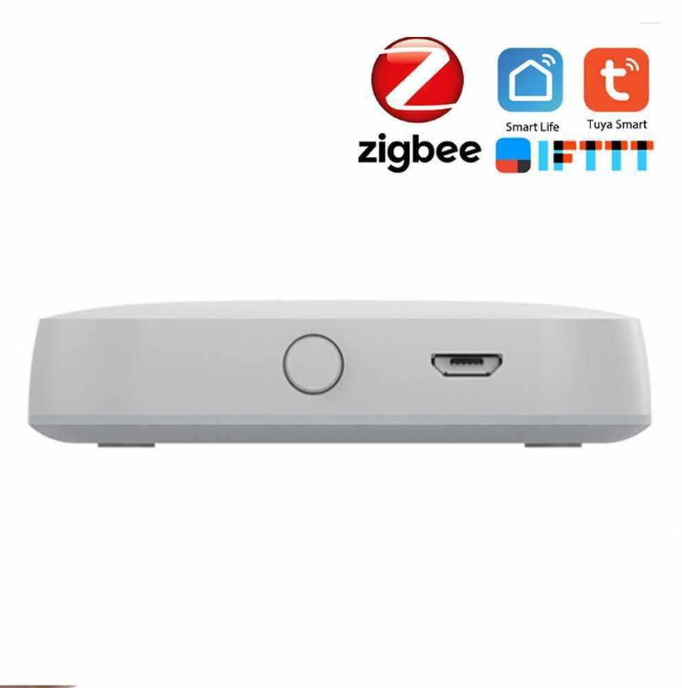 Intelligent Household WIFI Multifunctional Gate-way Equipment Linkage Portable Home Wireless Multipurpose Tool Compatible with ZigBee Tuya (Standard)
