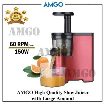 AMGO Slow Juicer 100% Fruit Juice Extraction /Juice Maker / Juicer Blender / Juice Extractor Primada