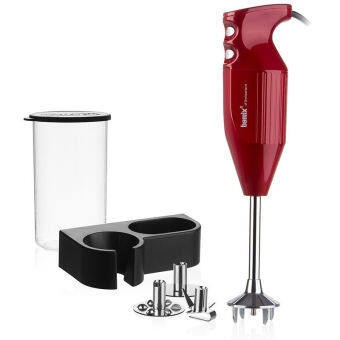 "Bamix Hand Blender BM140RD ""Mono"" Red"
