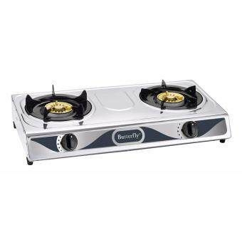 Harga Butterfly BGC-628 2 Burner Gas Stove Cooker