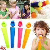 Creative Silicone Pop Ice Cream Mold Ice Cube Trays ice-lolly Maker DIY Tools - 3