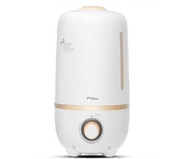Harga Deerma DEM F-450 Air Humidifier White Bear 4.0L: White & Gold(New Upgraded Model F-430)