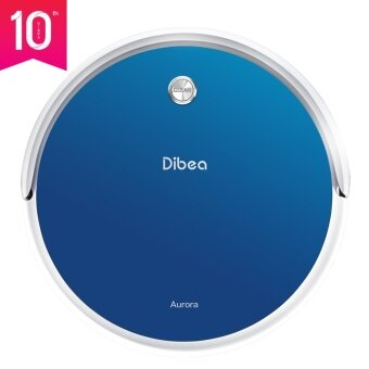 Harga Dibea GT100 Aurora Robotic Vacuum Cleaner Smart Gyro Navigation Wet Dry Mopping Self Charging Scheduling Cleaning Robot- Blue