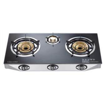 Harga Faber FC8638 BK Glass Cooker 3 Burners