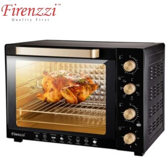 FIRENZZI ITALY 50L ELECTRIC OVEN TO-3050 w INDEPENDENT UPPER AND LOWER TEMPERATURE CONTROLLER
