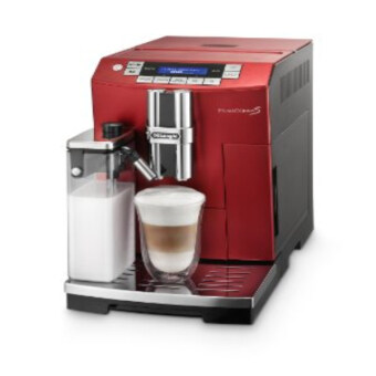 Harga DeLonghiI ECAM26.455RB Coffee Maker Compact (Red)