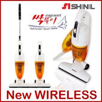 Harga SHINIL KOREA SVC-UB1000 Wireless Stick and Slim Handy Cyclone Vacuum Cleaner for Home