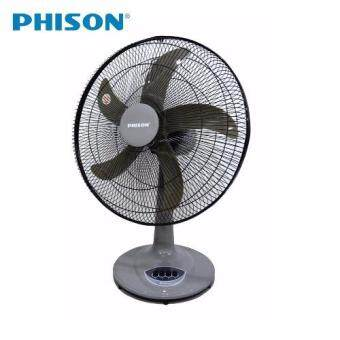 "Harga PHISON 18"" Table Fan HTF-PTF18 (Grey)"