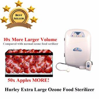 Harga Ozone Food Sterilizer [Extra Large Volume] O3 Water Purifier - Vegetable,Fruit & Meat Wash + Home Jacuzzi 2 IN 1 Feature