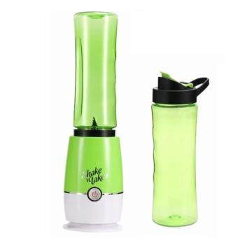 Harga [Double Bottles] Shake N Take 3 Juice & Fruit Blender with 2 Bottles Juicer Blender Food Blender (Green)
