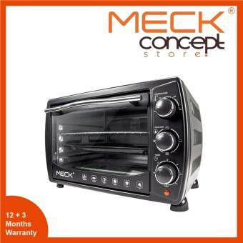 Harga Meck MOV-1900 Electric Oven 19L Heat selections up to three (Upper,Lower,Both)
