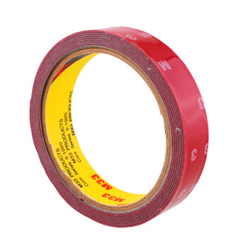 Harga Aukey 3M Double Sided Super Adhesive Tape (Red)