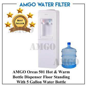 Harga AMGO Oreas 501F Hot And Warm Floor Standing Bottle Dispenser With 5 Gallon Tank