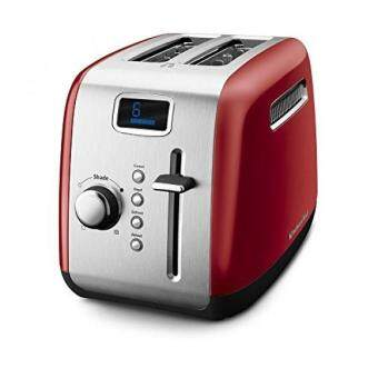 Harga KitchenAid KMT222ER 2-Slice Toaster with Manual High-Lift Lever and Digital Display - Empire Red