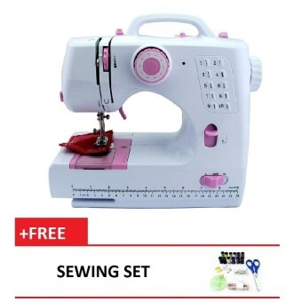 Harga HL-505B Sewing Machine with 10 Sewing Options (Pink)