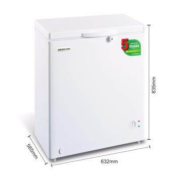 Harga Hesstar HCF-N10 Chest Freezer 120L Chest (White)