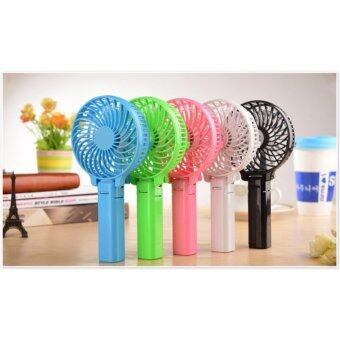 Harga Rechargeable 2 in1 Handy & Standable Adjustable Mini USB Charging Fan