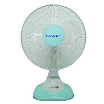 Harga Isonic 12 Inches Table Fan CTF-TF12A (LIGHT BLUE)