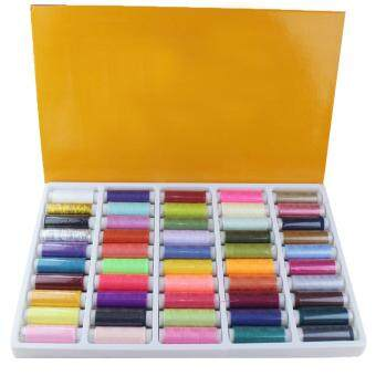 Harga 50 Color Fine Sewing Thread for Hand Sewing Industrial Machine