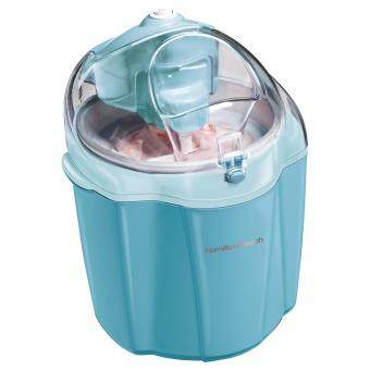 Harga Hamilton Beach 68322 Ice Cream Maker, 1.5-Quart, Blue