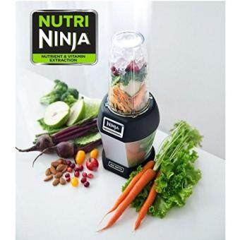 Harga GPL/ Nutri NINJA BL455 Professional 1000 watts Personal Blender Bonus Set with 3-Sip & Seal Single Serves(12, 18, and 24-Ounce Cups) & 75-Recipe Cookbook/ship from USA