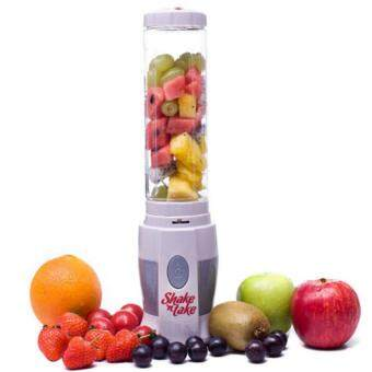 Harga Abusun Post New EU Plug Electricity Juicer Blender shake n take blender mini juice Machine Pocket Sports Bottle Multifunctional