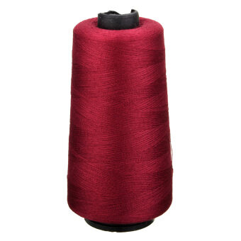 Harga 11 Colors 3000 Yards Industrial Overlocking Sewing Machine Polyester Thread
