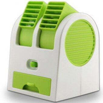Harga Bliss 2 in 1 Mini Air Conditioning + Fragrance Fan (Green)