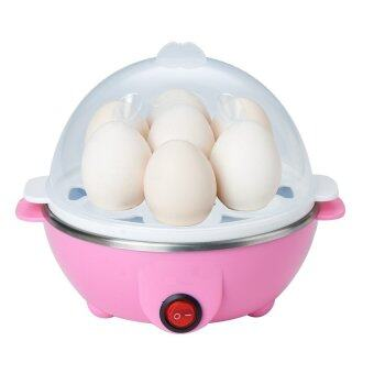 Harga Electric 7 Eggs Cooker (Pink)