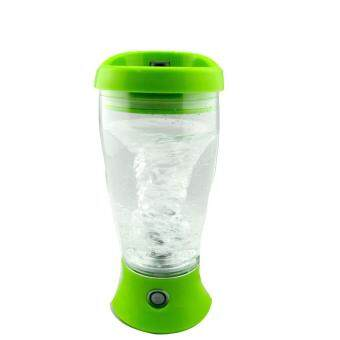 Harga 450ml Protein Shaker Bottle Electric Blender Bottle Vortex Mixer Cup Leakproof