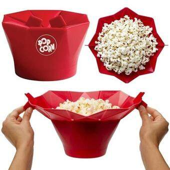 Harga Moonar Foldable microwave silicone popcorn maker home accessories