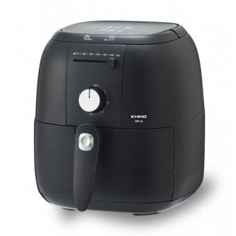 Harga Khind ARF22 HIGH Quality Air Fryer Less Oil Healthy Safe Cooking Crispy Frying (Black)