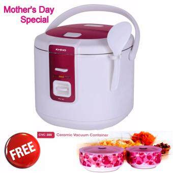 Harga Khind Jar Rice Cooker RCJ183 (2 Years Warranty)