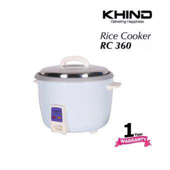 KHIND Rice Cooker RC360 3.6L Auto Keep Warm