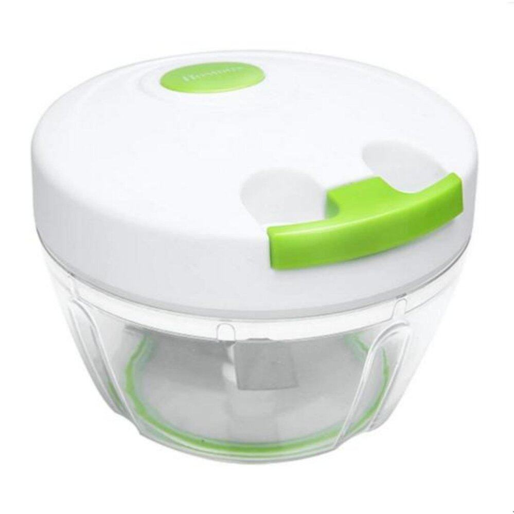 Kitchen Mini Chopper Food Pull Processor - for Vegetable,Garlic, Herb, Onion (3 Blades)