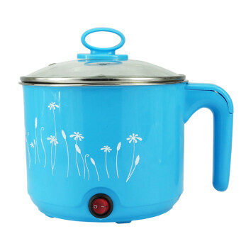 Harga Multifunctional Electric Steamboat Hot Pot Instant Cooker 1.5L(Blue)