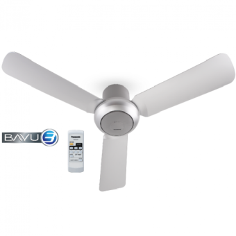 "[NEW] PANASONIC BAYU 3 Blade Ceiling Fan F-M12D2 (48"") GREY"