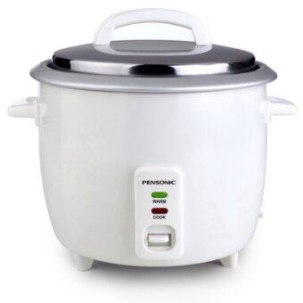 Pensonic PRC-25G Free Steam Tray 2.5L Rice Cooker – white
