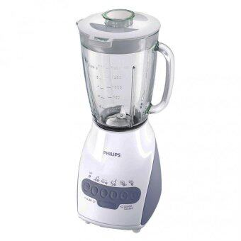 Harga Philips Blender HR2116 (600W) 2.0L Glass Jar + Multi Mill