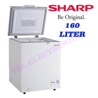 Sharp Chest Freezer 160 Liter White