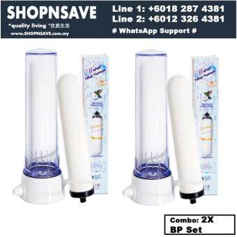 SHOPNSAVE Water Filter 2 sets *Authentic Ceramic Water Filter British Portacel Standard Ceramic Filter Candle Set, Water Filter, Water Filters