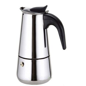 Harga Top Quality Hot Sale 2/4/6/9 Cups Stainless Steel Moka Espre ssoLatte Percolator Stove Top Coffee Maker Pot