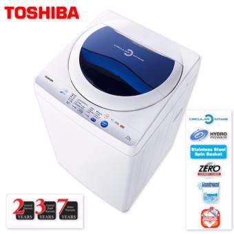 Harga TOSHIBA AW-F820SM 7.2KG Washing Machine with 7 Years Motor Warranty + 3 Years Control Panel Warranty + 2 Years General Warranty