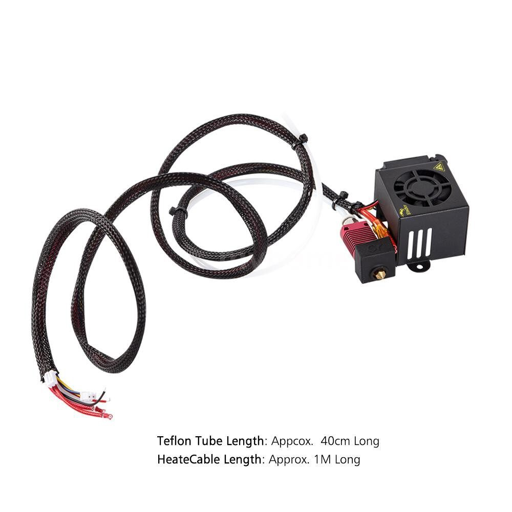 Printers & Projectors - Creality 3D Ender-3 Official Full Assembled Extruder Kit 3D Printer Parts Accessories for / - MULTICOLOR