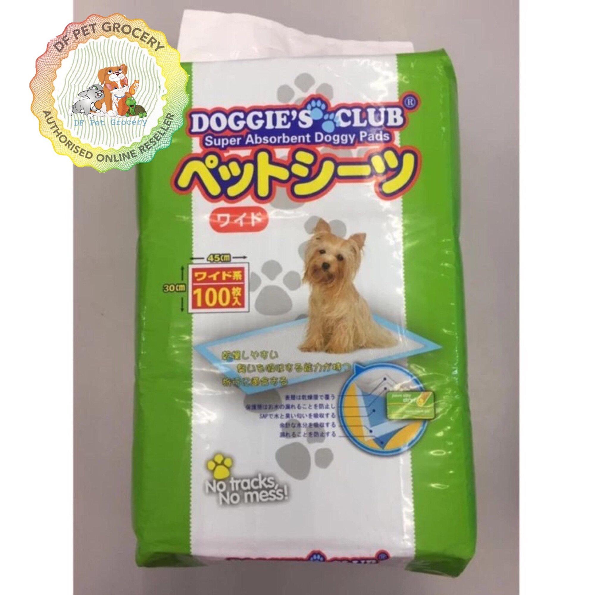 Doggies Club Super Absorbent Doggy Pads 100 Pcs(45cmx30cm)
