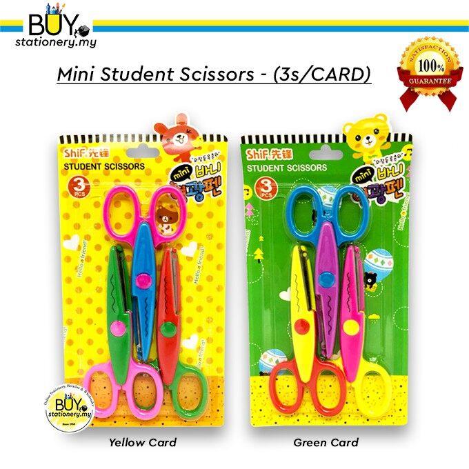 Cute Mini Student Lace Scissors - (3s/CARD)