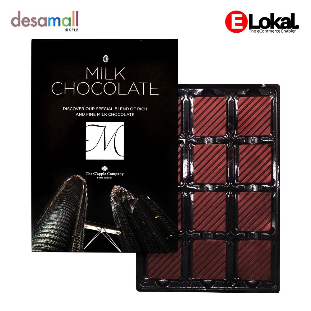 C'APPLE Milk Chocolate 60g
